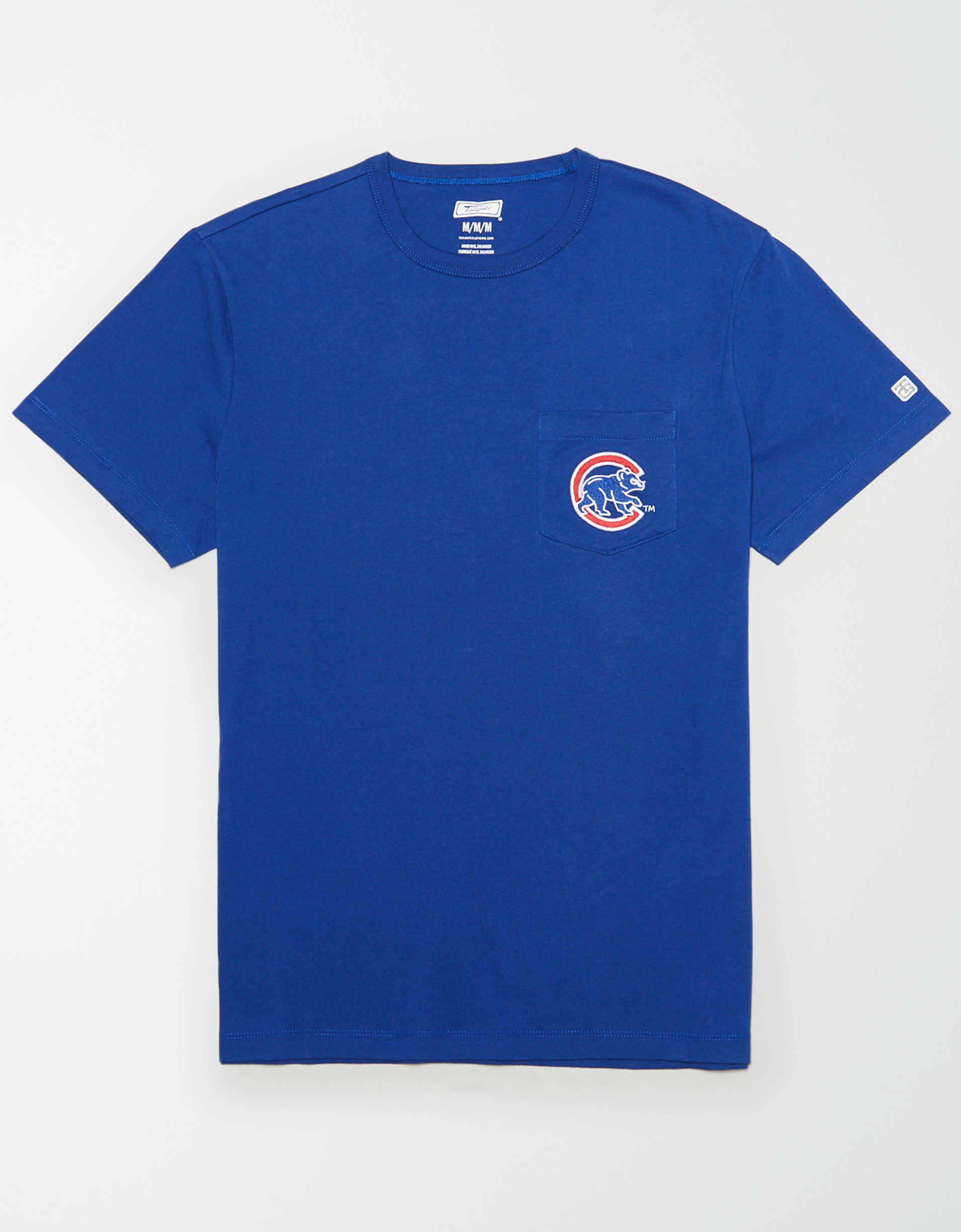 Tailgate Men's Chicago Cubs Pocket T-Shirt