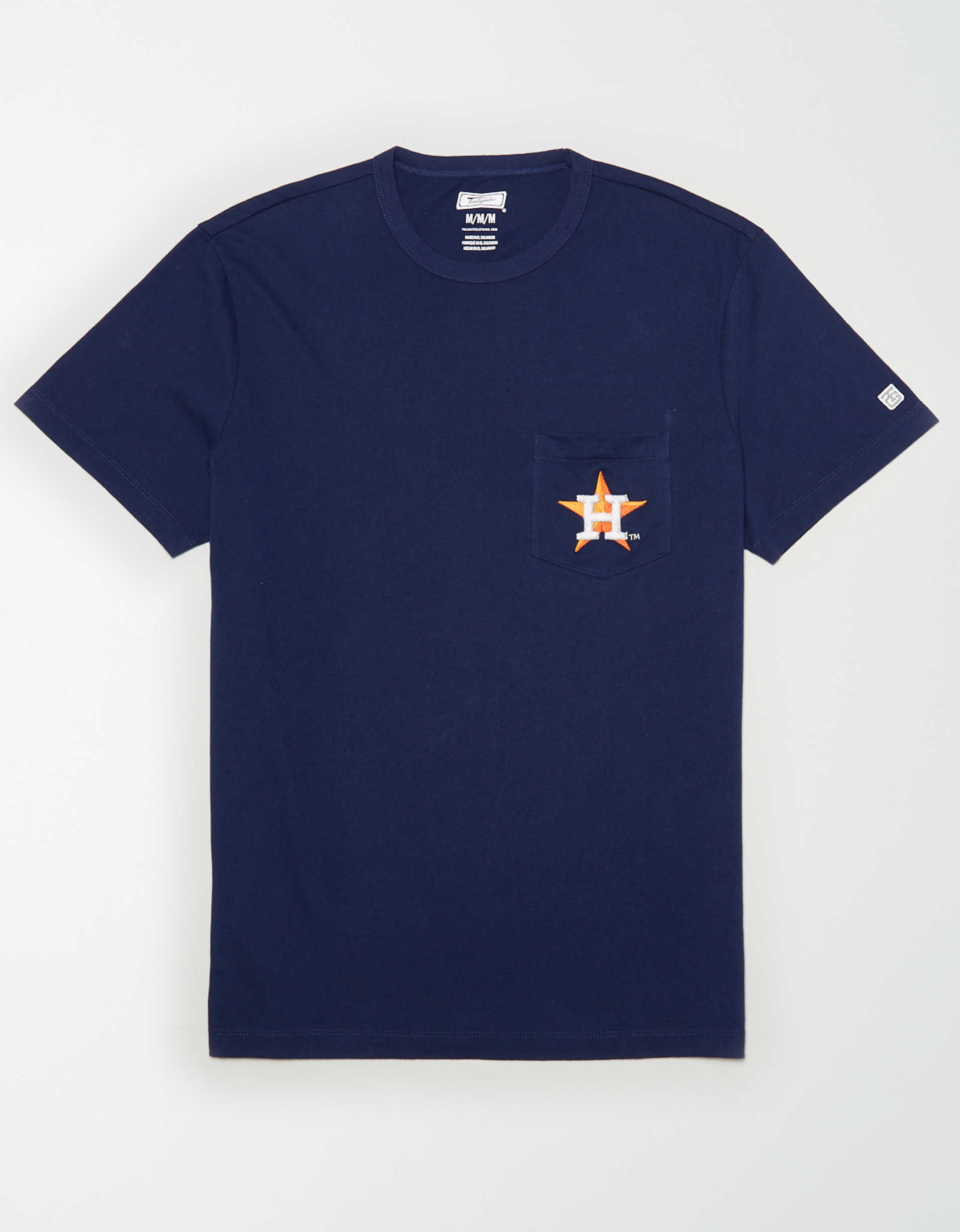 Tailgate Men's Houston Astros Pocket T-Shirt