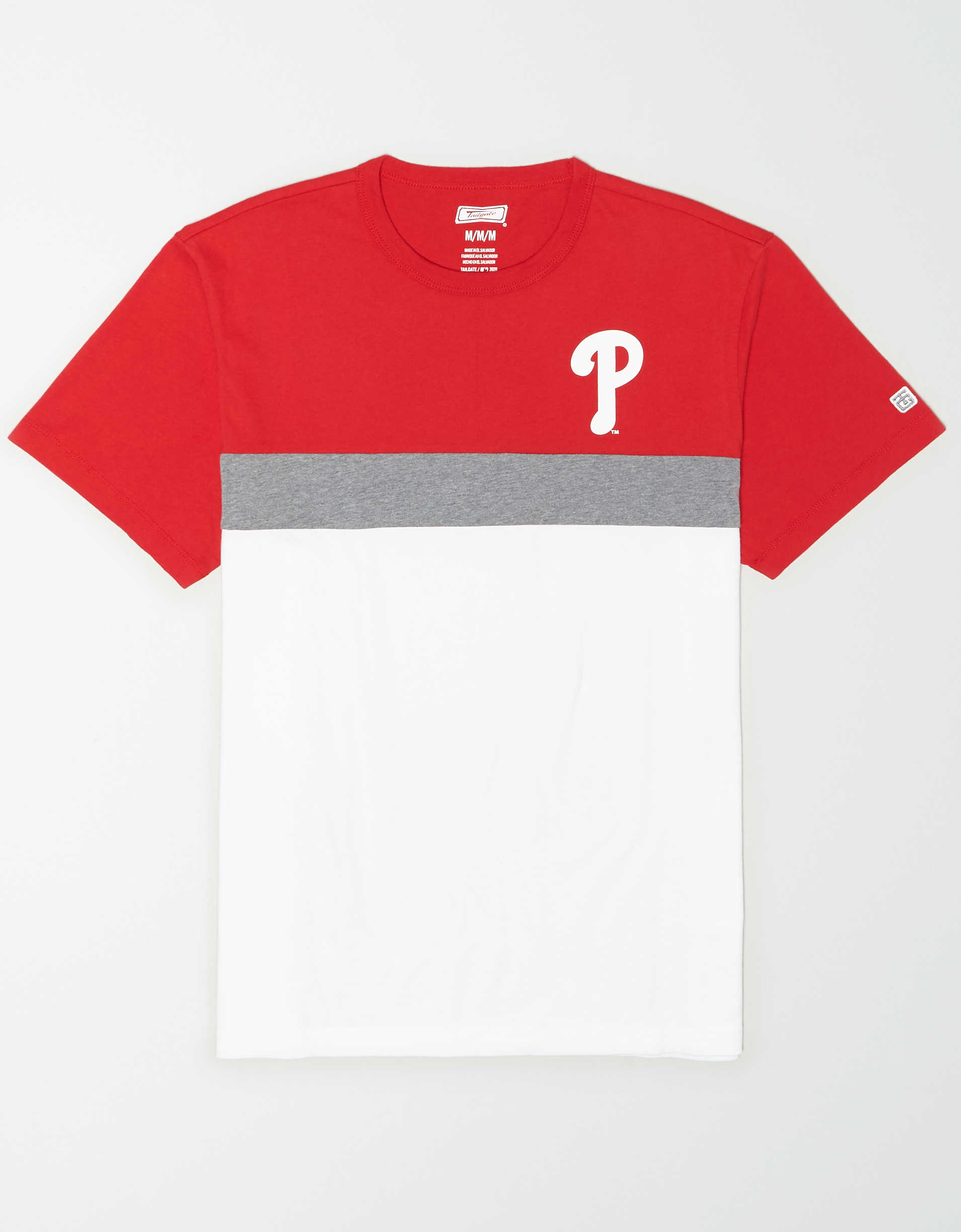 Tailgate Men's Philadelphia Phillies Colorblock T-Shirt