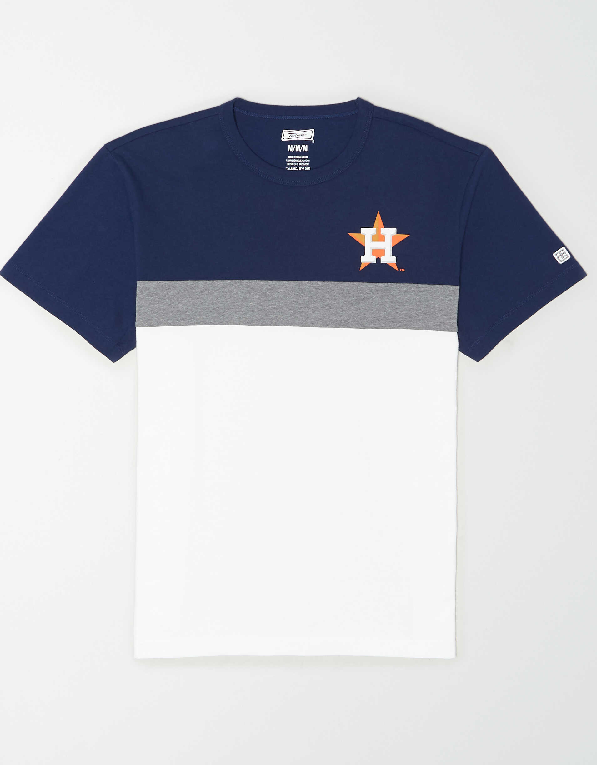 Tailgate Men's Houston Astros Colorblock T-Shirt