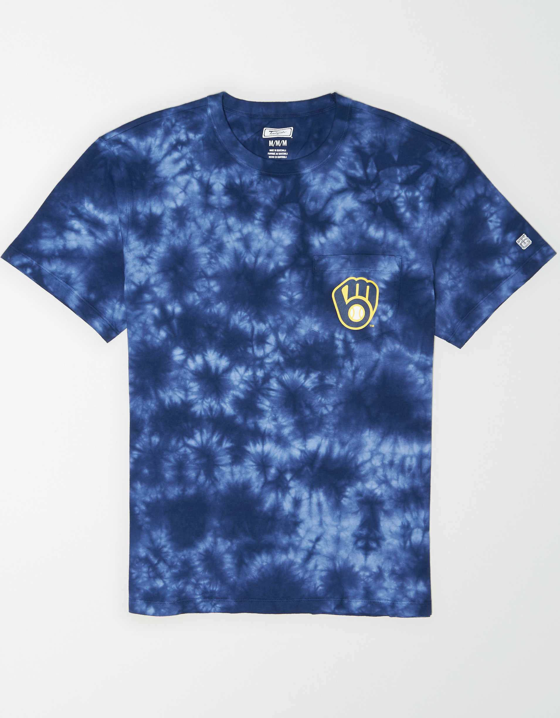 Tailgate Men's Milwaukee Brewers Pocket T-Shirt