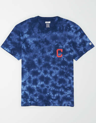 Tailgate Men's Cleveland Indians Pocket T-Shirt