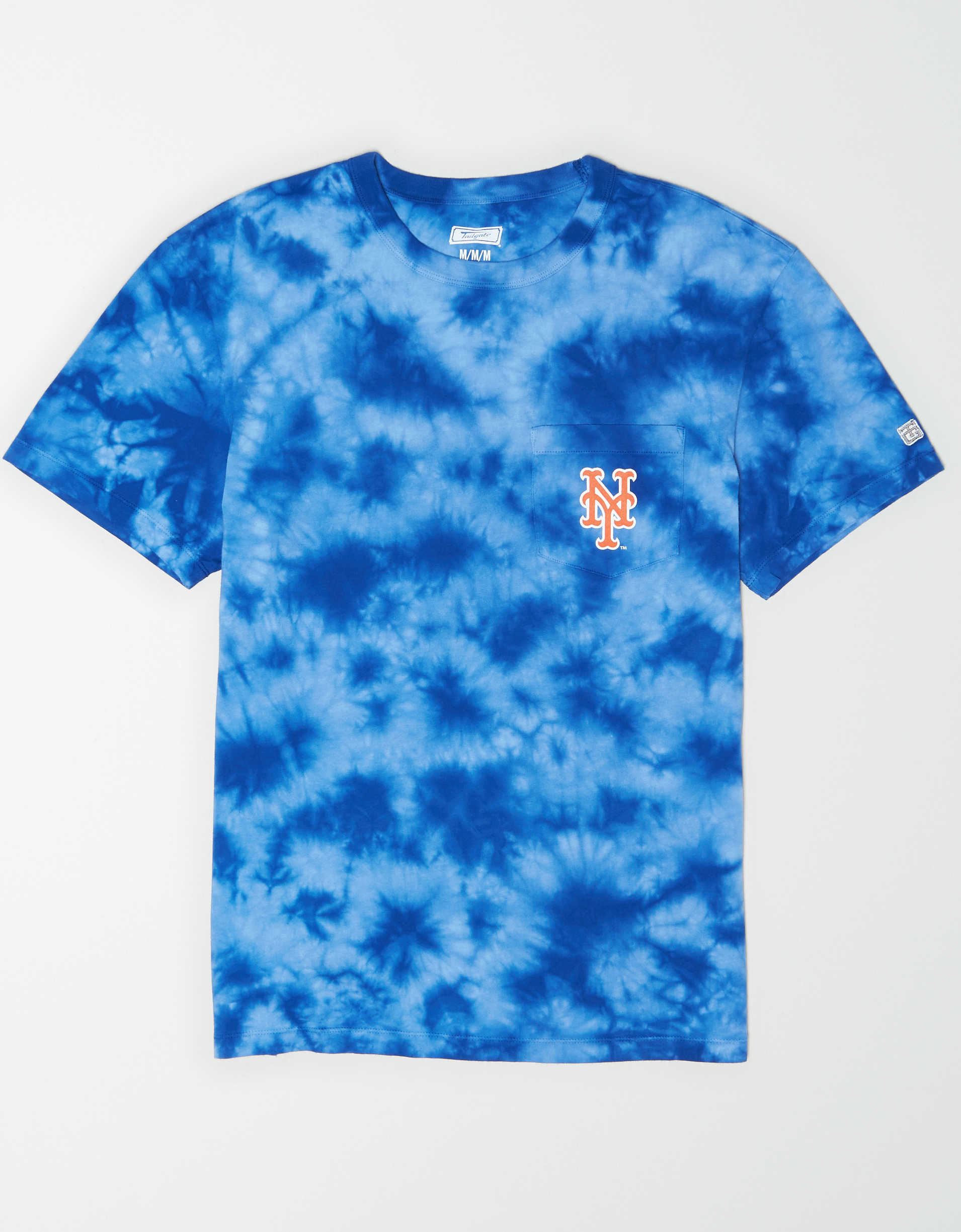 Tailgate Men's New York Mets Pocket T-Shirt