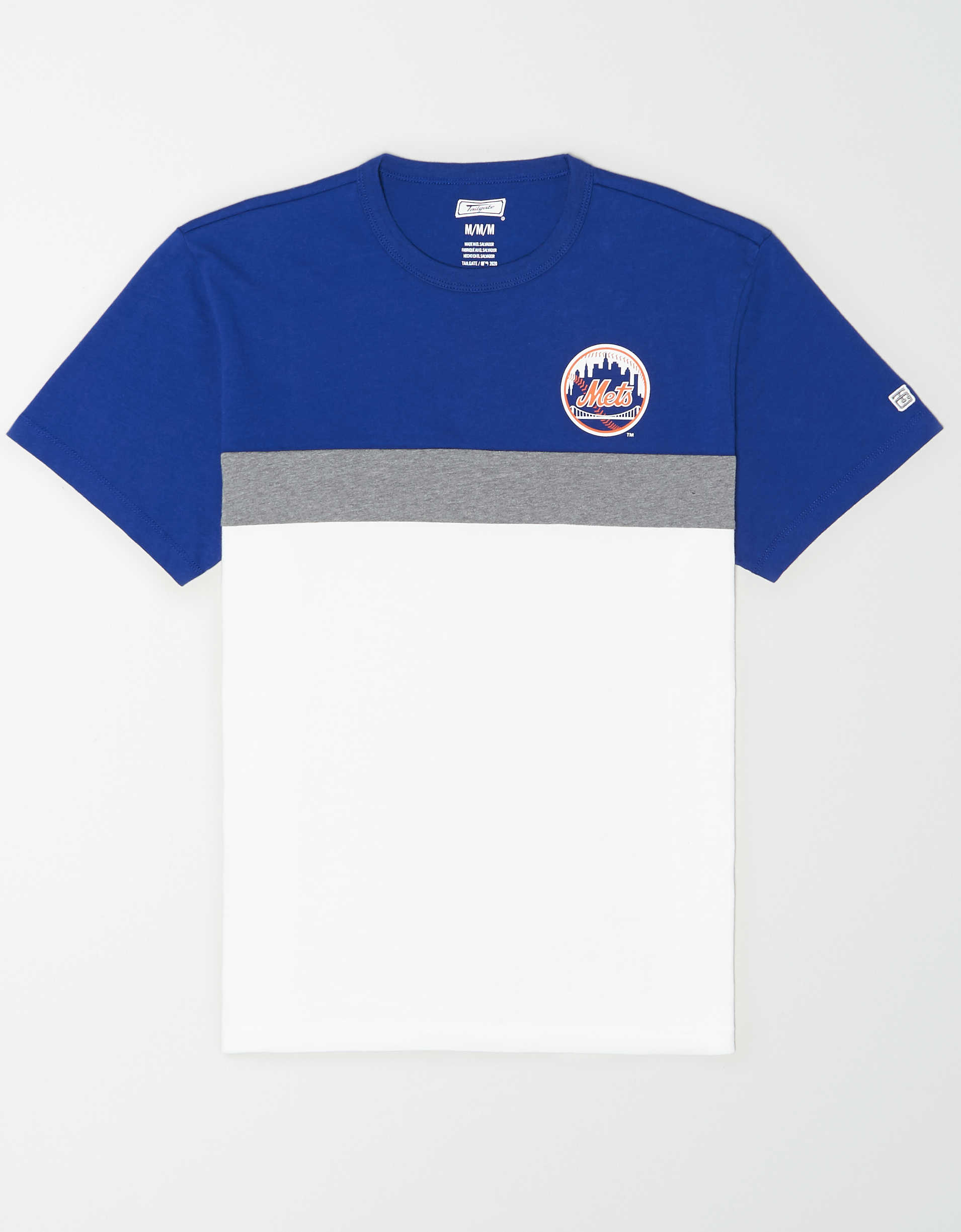 Tailgate Men's NY Mets Colorblock T-Shirt