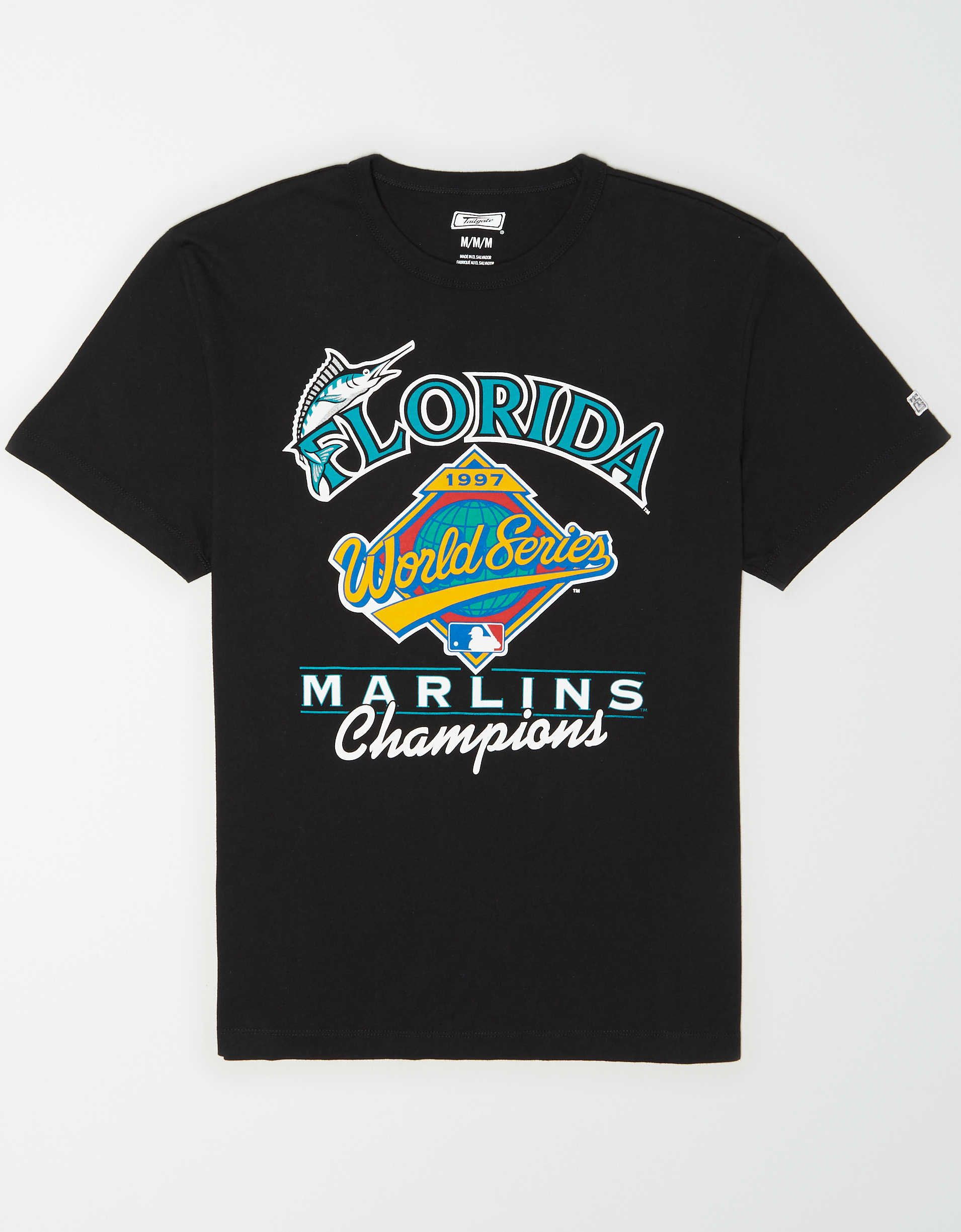 Tailgate Men's Miami Marlins World Series T-Shirt