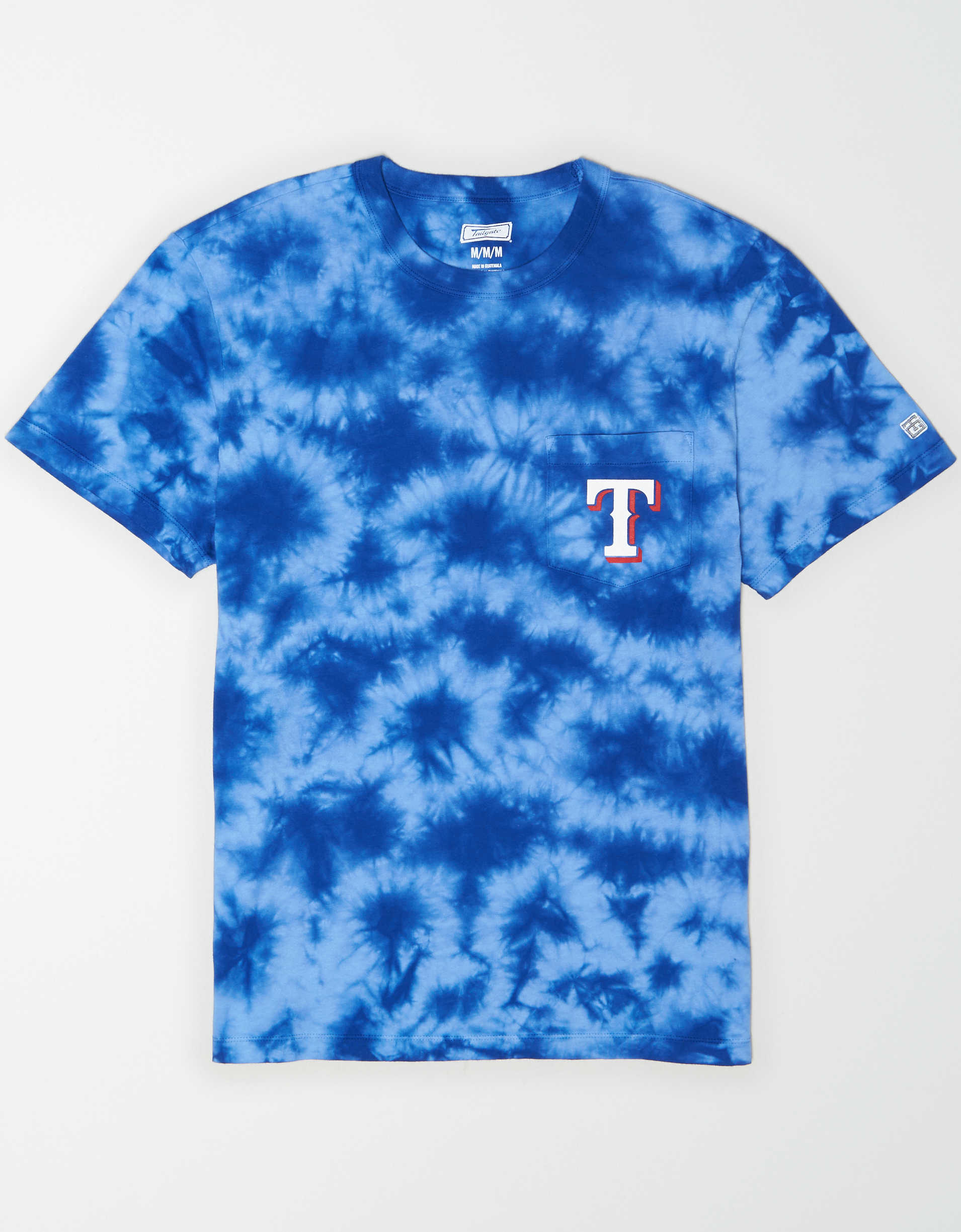 Tailgate Men's Texas Rangers Pocket T-Shirt