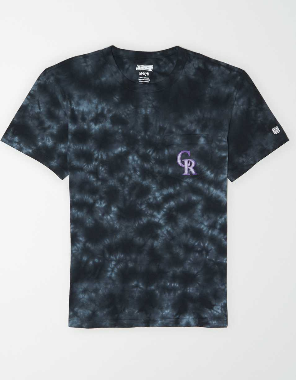 Tailgate Men's Colorado Rockies Pocket T-Shirt