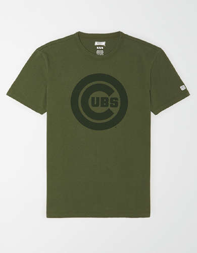 Tailgate Men's Chicago Cubs Tonal Graphic T-Shirt
