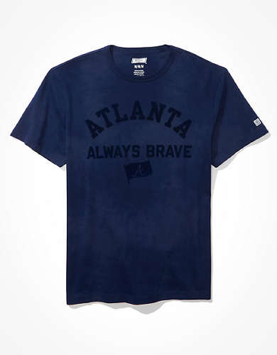 Tailgate Men's Atlanta Braves Tonal Tie-Dye T-Shirt
