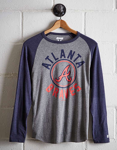 Tailgate Men's Atlanta Braves Baseball Shirt - Free Shipping + Free Returns