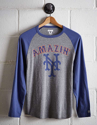 Tailgate Men's New York Mets Baseball Shirt - Free Returns