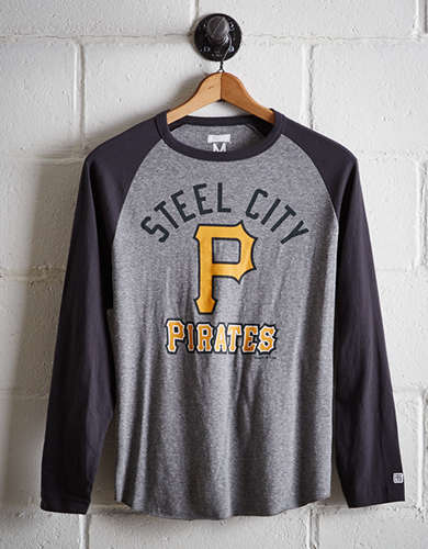 Tailgate Men's Pittsburgh Pirates Baseball Shirt - Free Returns