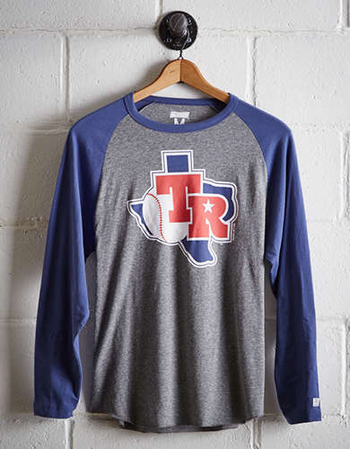 Tailgate Men's Texas Rangers Baseball Shirt - Free returns