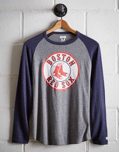 Tailgate Men's Boston Red Sox Baseball Shirt - Free Returns
