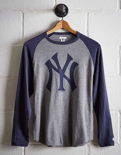 Tailgate Men's New York Yankees Baseball Shirt - Free Returns