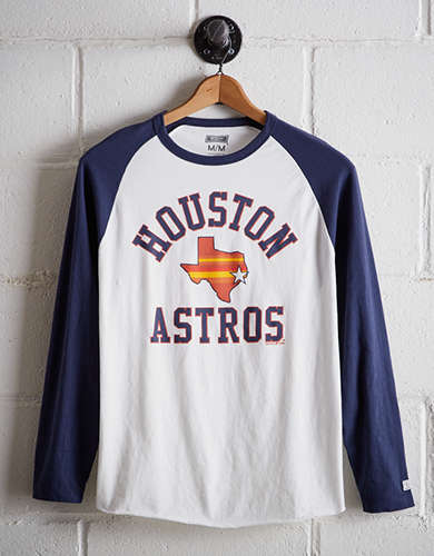 Tailgate Men's Houston Astros Baseball Shirt - Buy One Get One 50% Off