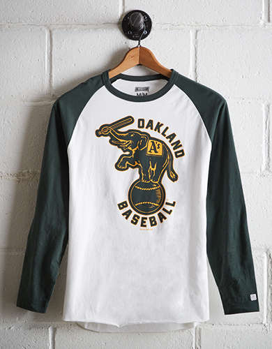Tailgate Men's Oakland Athletics Baseball Shirt - Buy One Get One 50% Off