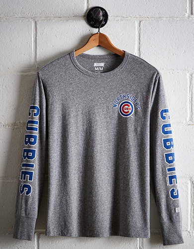 Tailgate Men's Chicago Cubs Long Sleeve Tee - Buy One Get One 50% Off