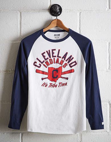Tailgate Men's Cleveland Indians Baseball Shirt - Buy One Get One 50% Off