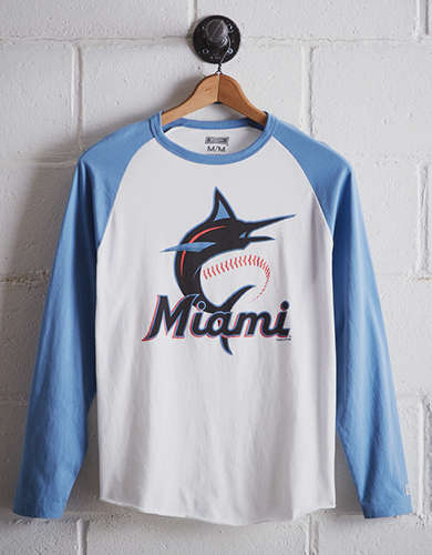 Tailgate Men's Miami Marlins Baseball Shirt - Free Returns