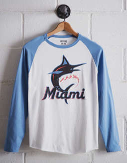 Tailgate Men's Miami Marlins Baseball Shirt