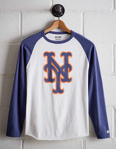 Tailgate Men's NY Mets Baseball Shirt - Free Returns