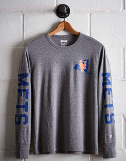 Tailgate Men's New York Mets Long Sleeve Tee