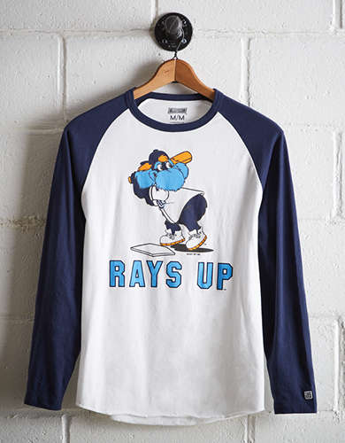 Tailgate Men's Tampa Bay Rays Baseball Shirt - Free Shipping + Free Returns