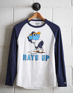 0755a6f7 placeholder image Tailgate Men's Tampa Bay Rays Baseball Shirt