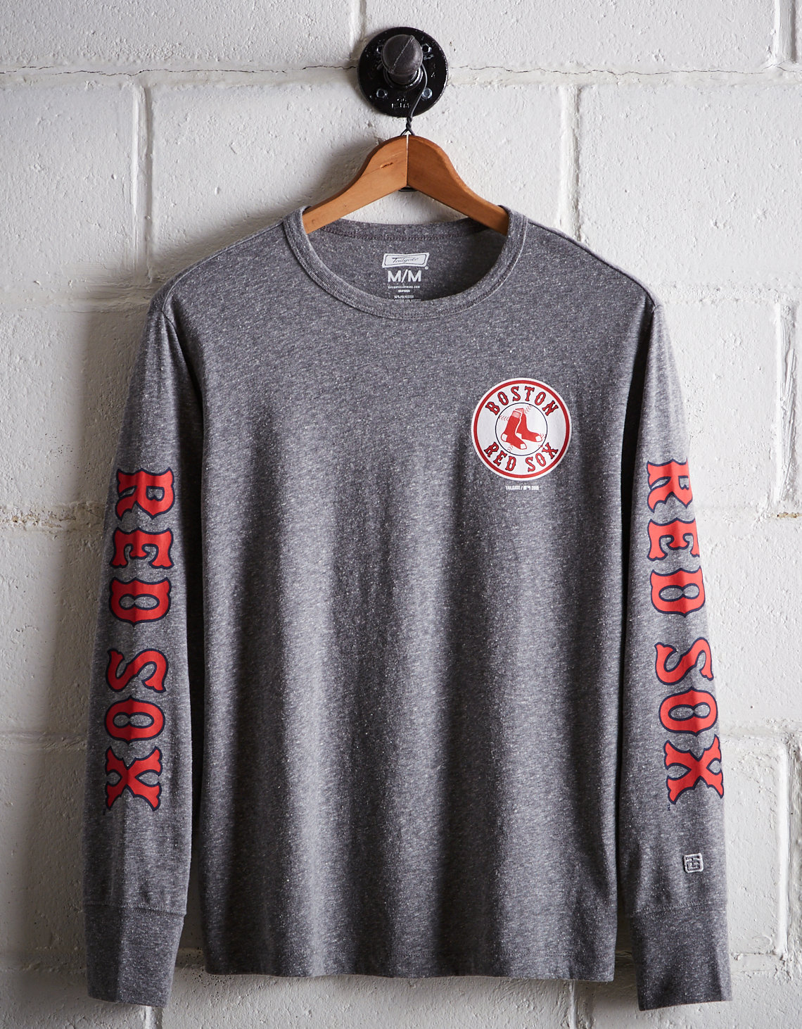 9654a32cfdf91 Tailgate Men s Boston Red Sox Long Sleeve Tee. Placeholder image. Product  Image