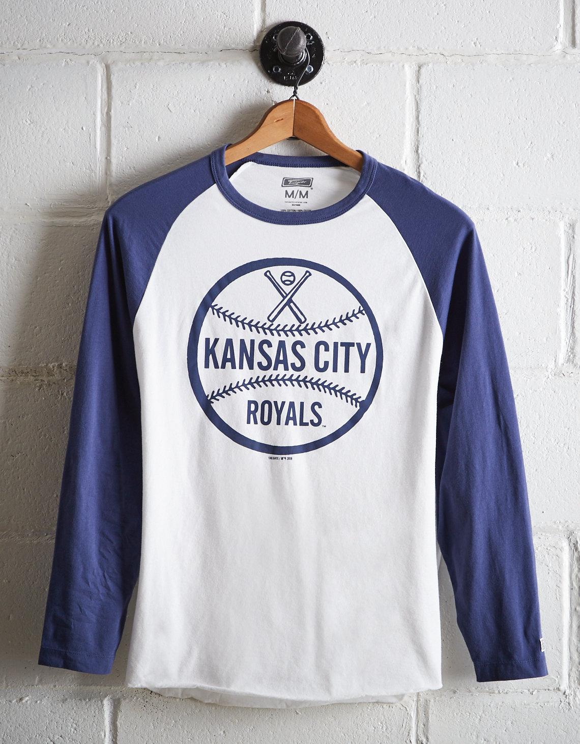 32ea4034 Tailgate Men's Kansas City Royals Baseball Shirt