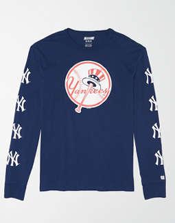 Tailgate Men's NY Yankees Long Sleeve Graphic T-Shirt