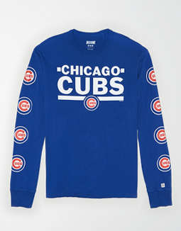 Tailgate Men's Chicago Cubs Long Sleeve T-Shirt