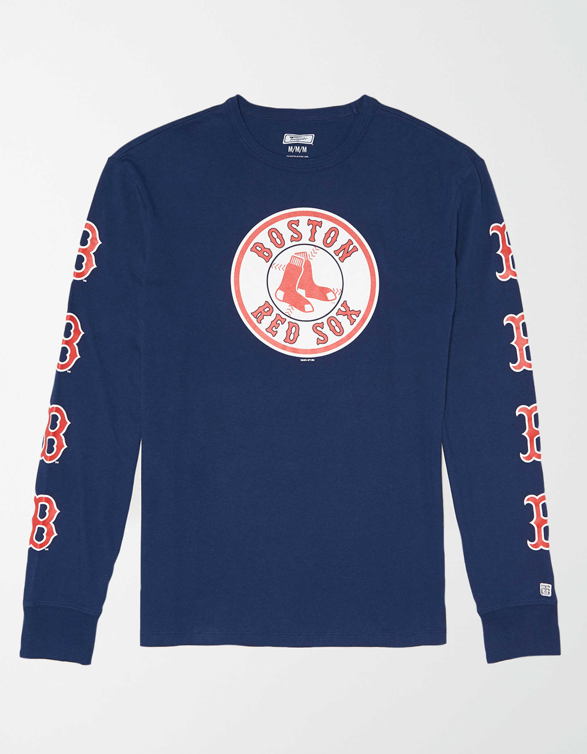 Tailgate Men's Boston Red Sox Long Sleeve Graphic T-Shirt