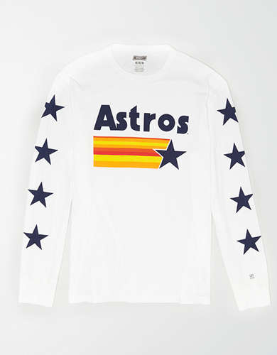 Tailgate Men's Houston Astros Long Sleeve T-Shirt