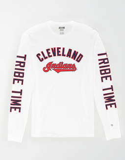 Tailgate Men's Cleveland Indians Long Sleeve T-Shirt
