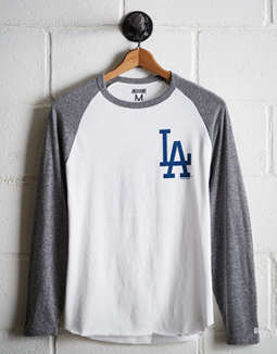 Tailgate Men's LA Dodgers Baseball Shirt