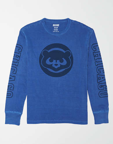 Tailgate Men's Chicago Cubs Long-Sleeve T-Shirt