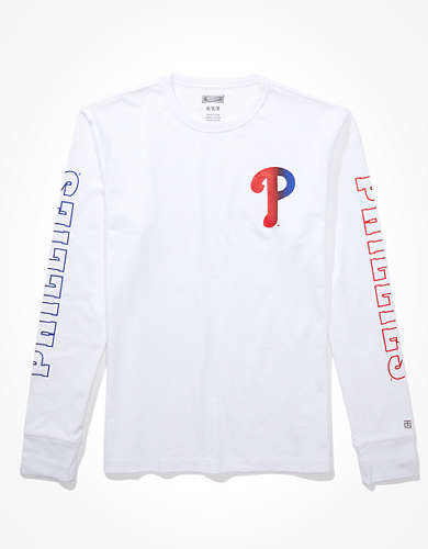 Tailgate Men's Philadelphia Phillies Long-Sleeve T-Shirt