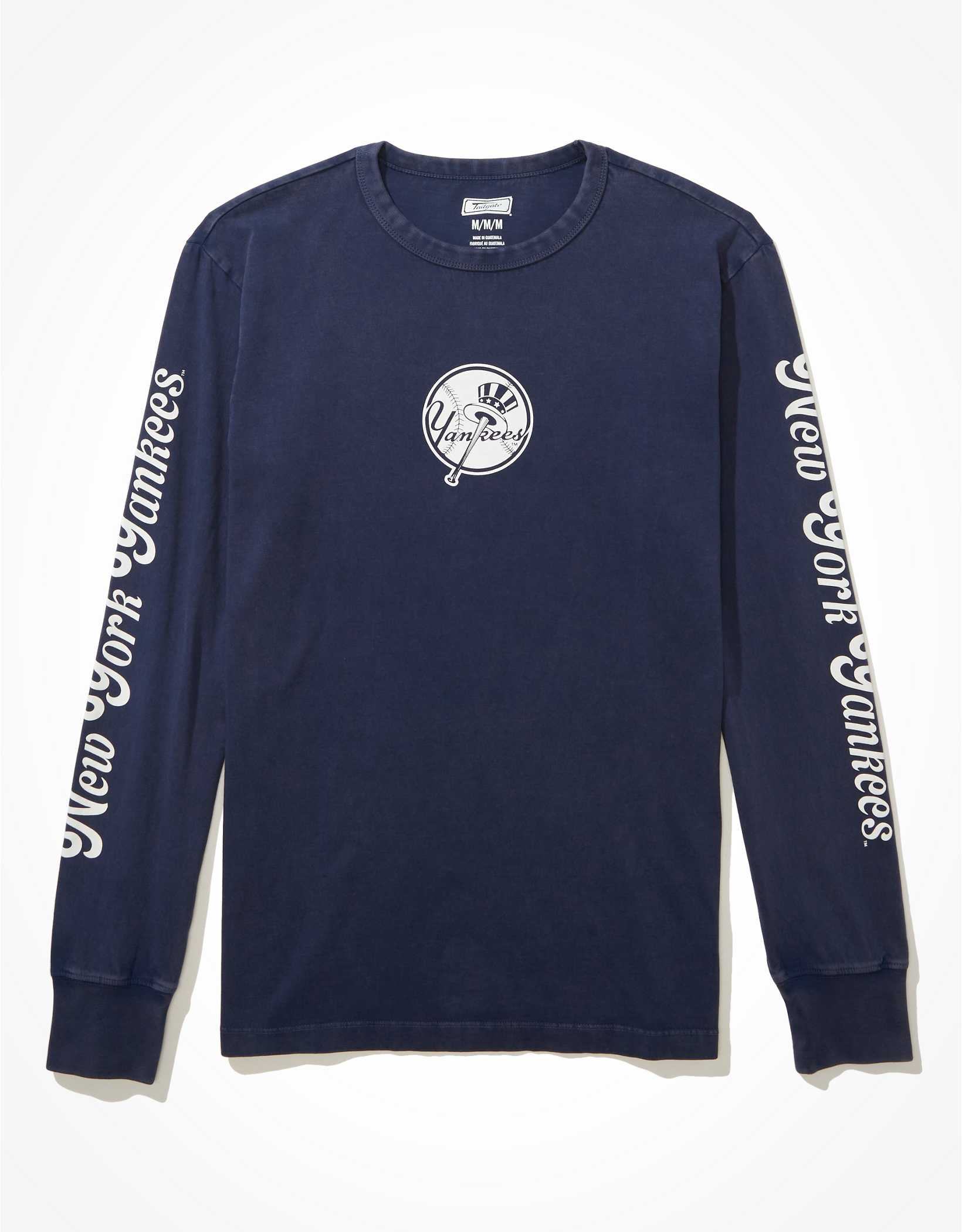 Tailgate Men's NY Yankees Long-Sleeve Graphic T-Shirt