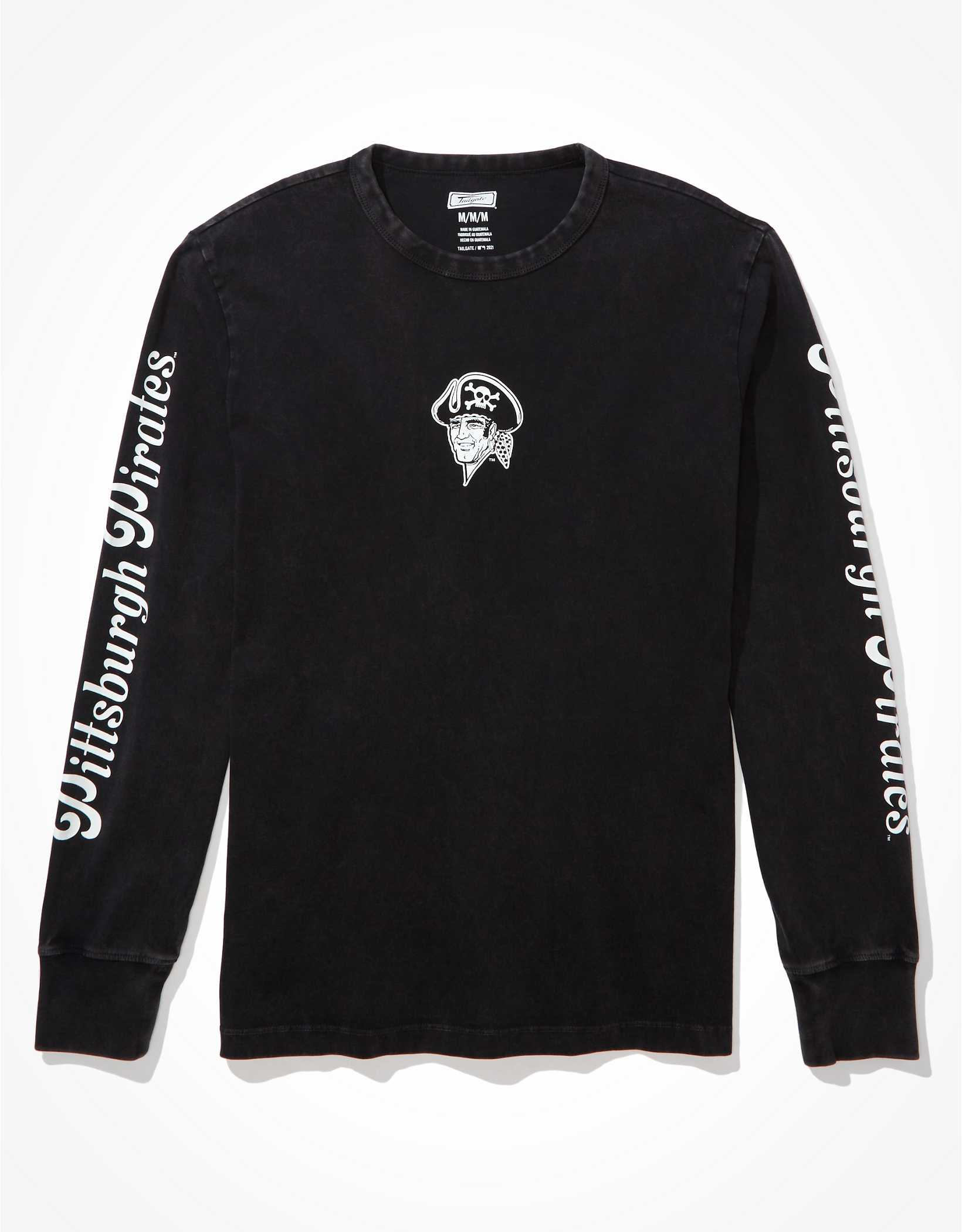 Tailgate Men's Pittsburgh Pirates Long-Sleeve Graphic T-Shirt
