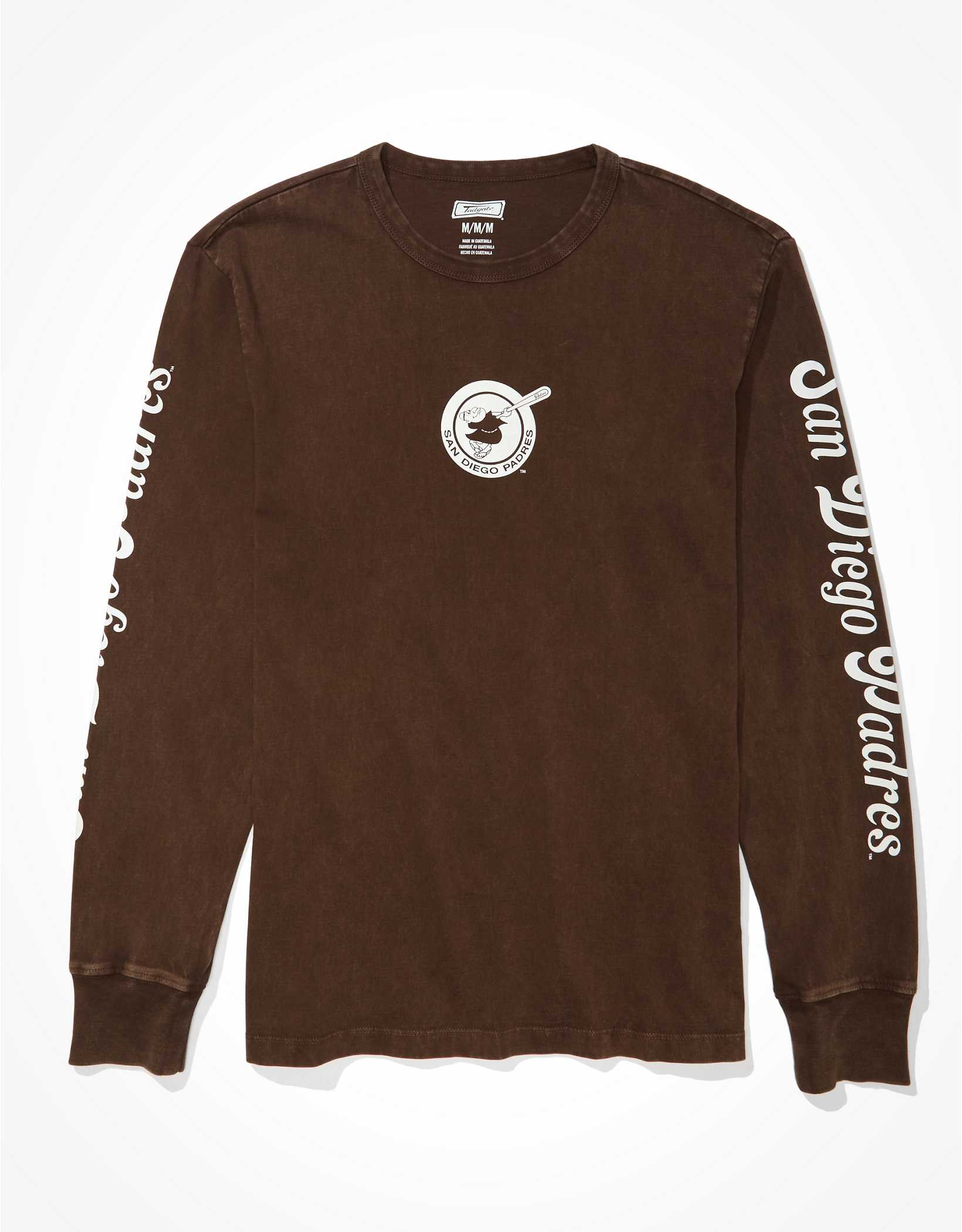 Tailgate Men's San Diego Padres Long-Sleeve Graphic T-Shirt