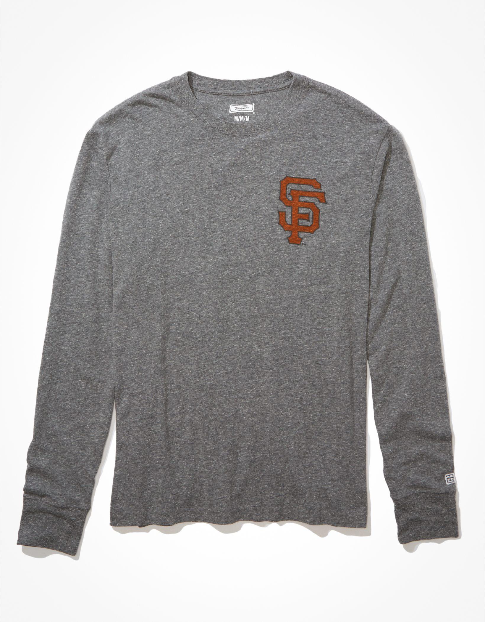 Tailgate Men's San Francisco Giants Long-Sleeve Graphic T-Shirt