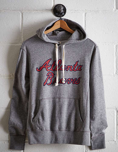 Tailgate Men's Atlanta Braves Popover Hoodie - Free Shipping + Free Returns