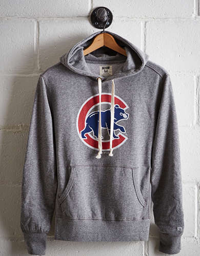 Tailgate Men's Chicago Cubs Popover Hoodie - Free Returns