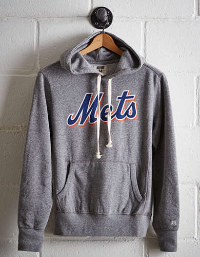 Tailgate Men's New York Mets Popover Hoodie - Free Returns