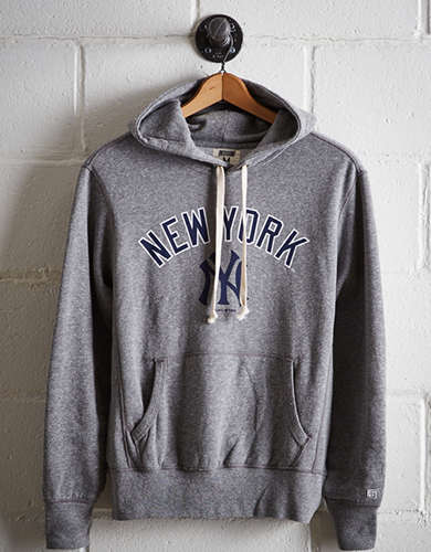 Tailgate Men's New York Yankees Popover Hoodie - Free Returns