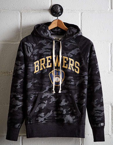 Tailgate Men's Milwaukee Brewers Camo Hoodie - Free Shipping & Returns