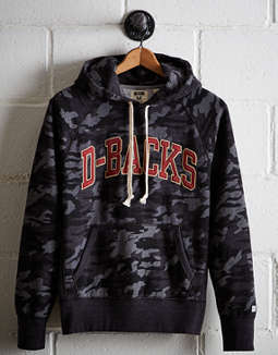 Tailgate Men's Arizona D-Backs Camo Hoodie