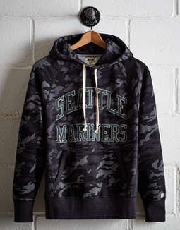 Tailgate Men's Seattle Mariners Camo Hoodie